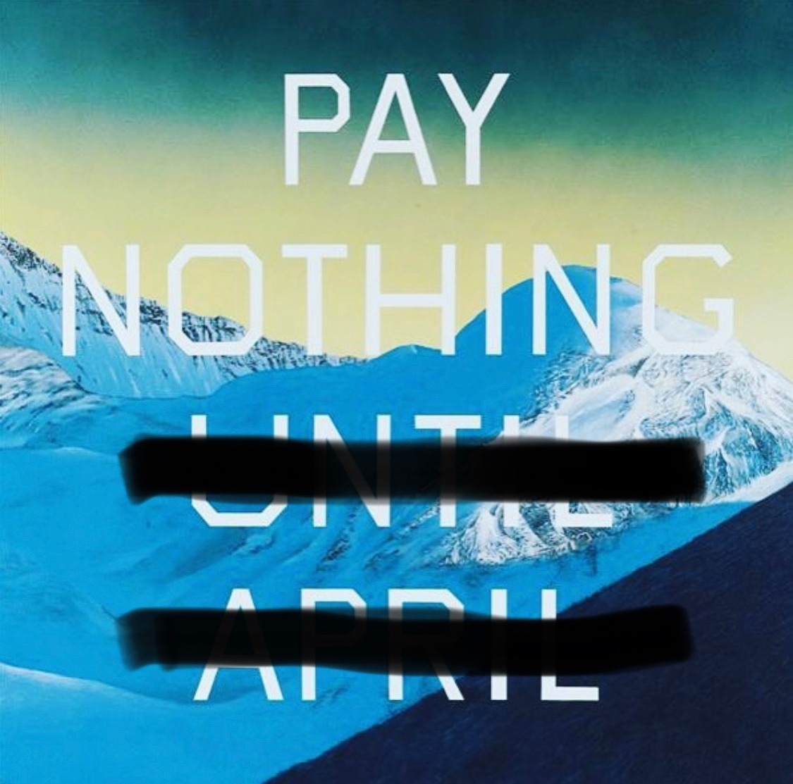 Pay Nothing